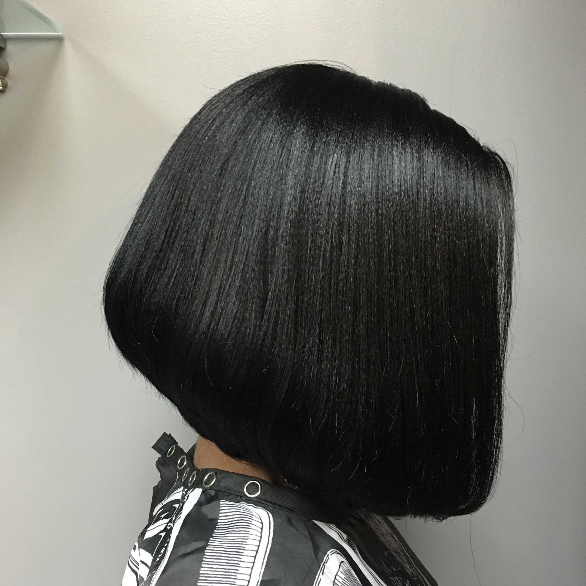 Wig Washed   Colored   Styled