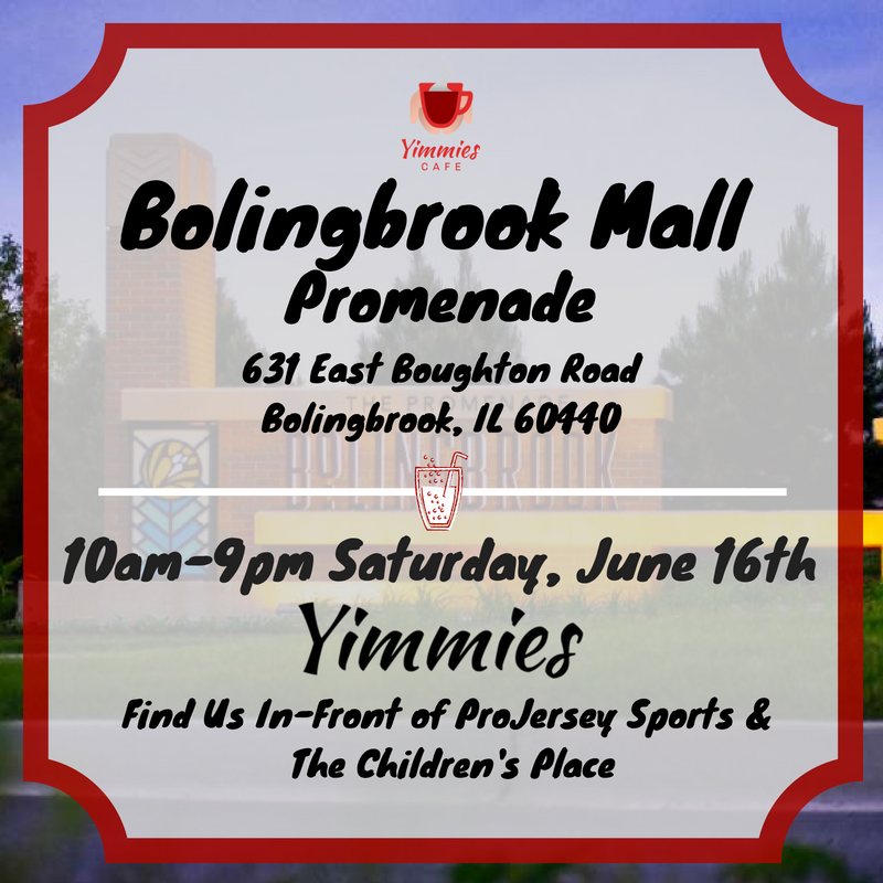 Yimmies Cafe Bolingbrook Promenade Mall