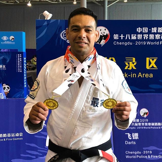 We are SO proud of @sergio.machado.athlete for traveling to China to compete and bringing home double gold!! The sky is the limit for you my friend!! Congratulations!! ❤️🥇🥇