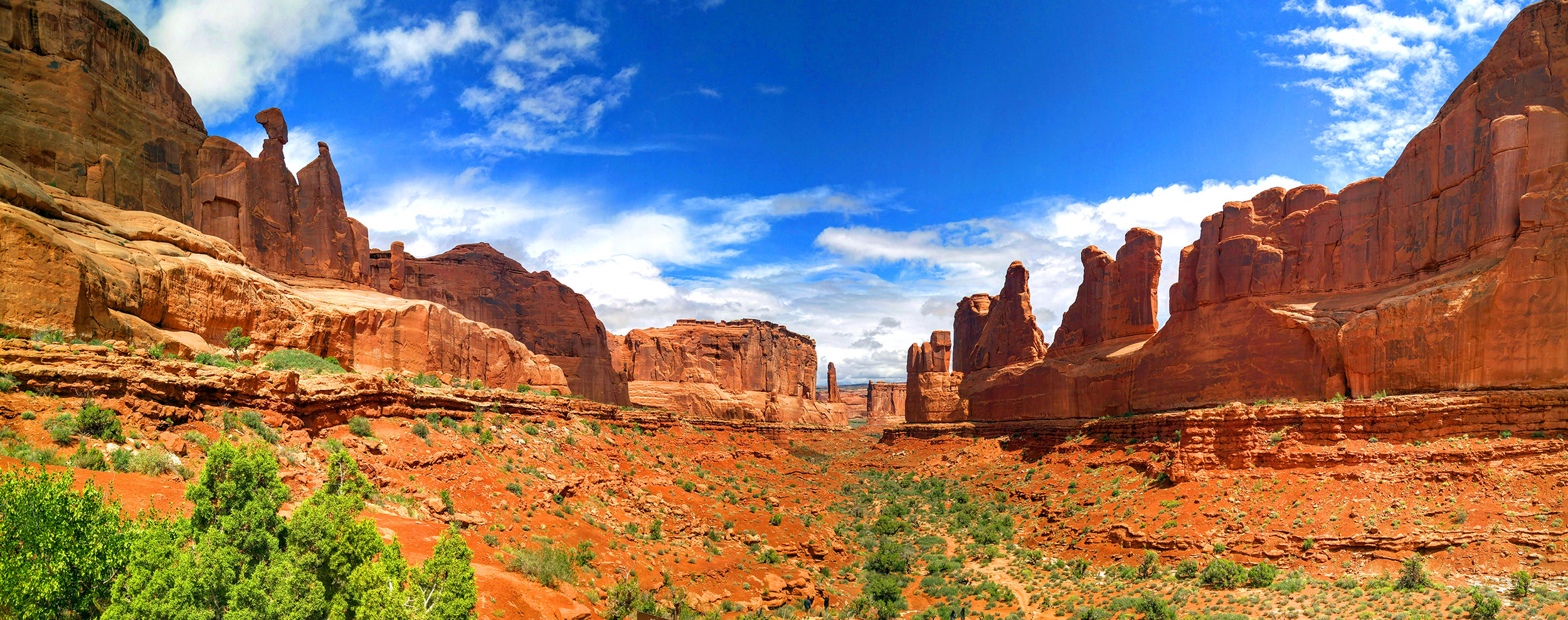 Arches National Park, Utah, 2016. LG G4 Panorama.