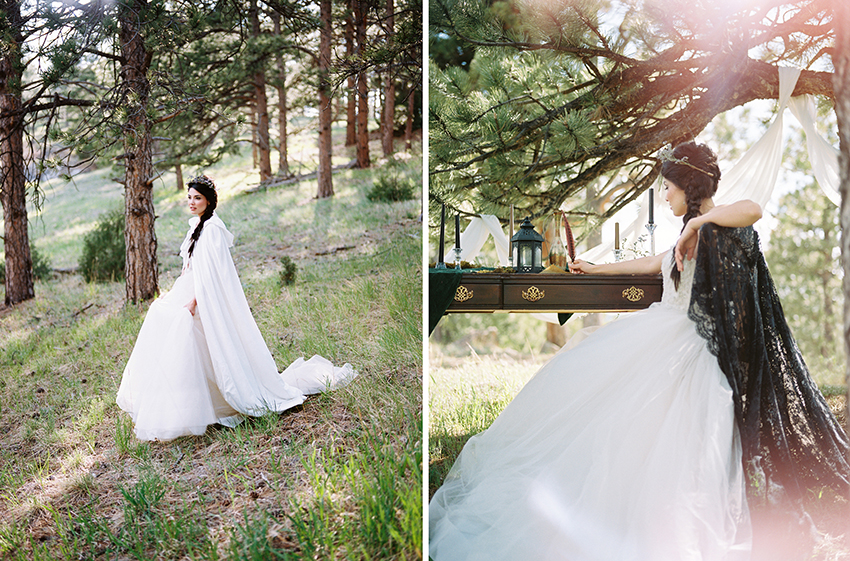 Colorado Elven Cosplay Bridal Portraits Mountain Wedding Photographer_21.jpg