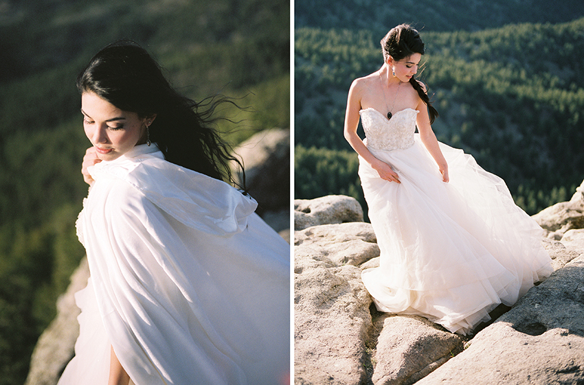 Colorado Elven Cosplay Bridal Portraits Mountain Wedding Photographer_35.jpg