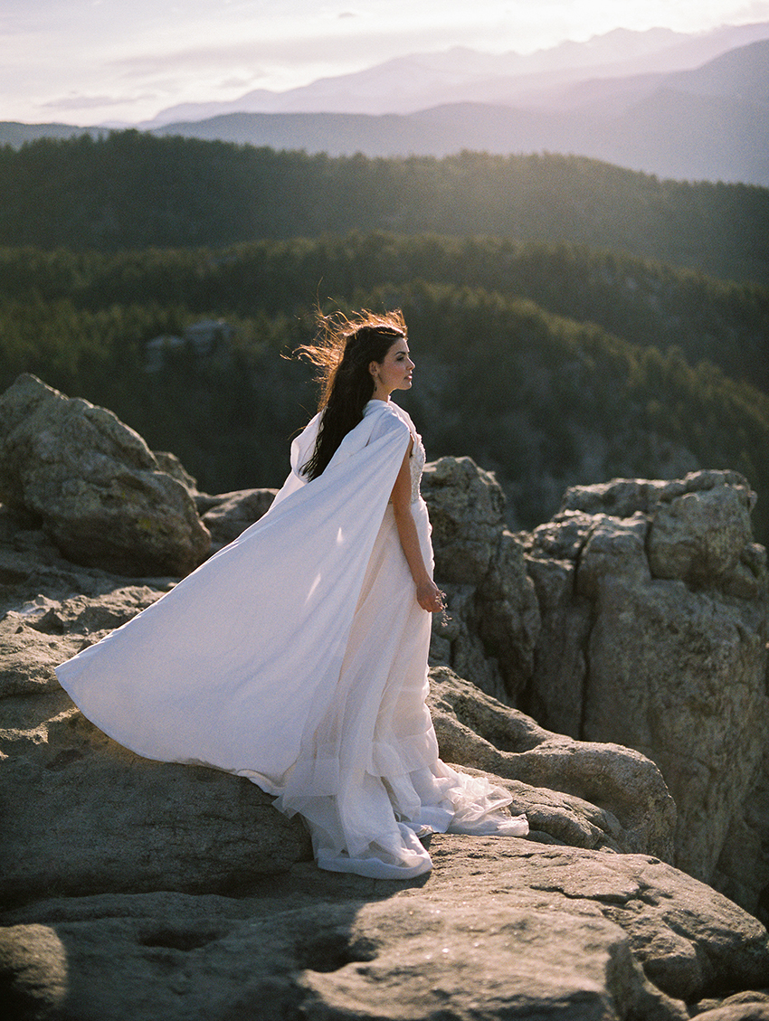 Colorado Elven Cosplay Bridal Portraits Mountain Wedding Photographer_40.jpg