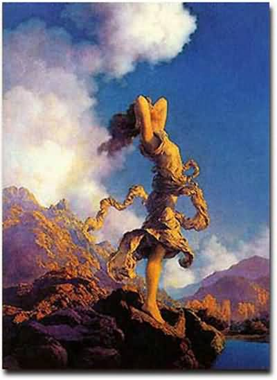 Ecstasy, Maxfield Parrish.