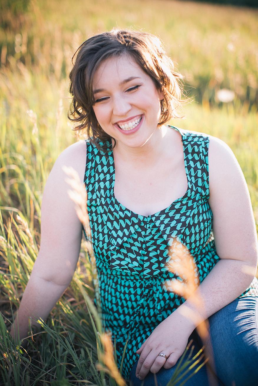 Engagement Session Portrait, 2013.