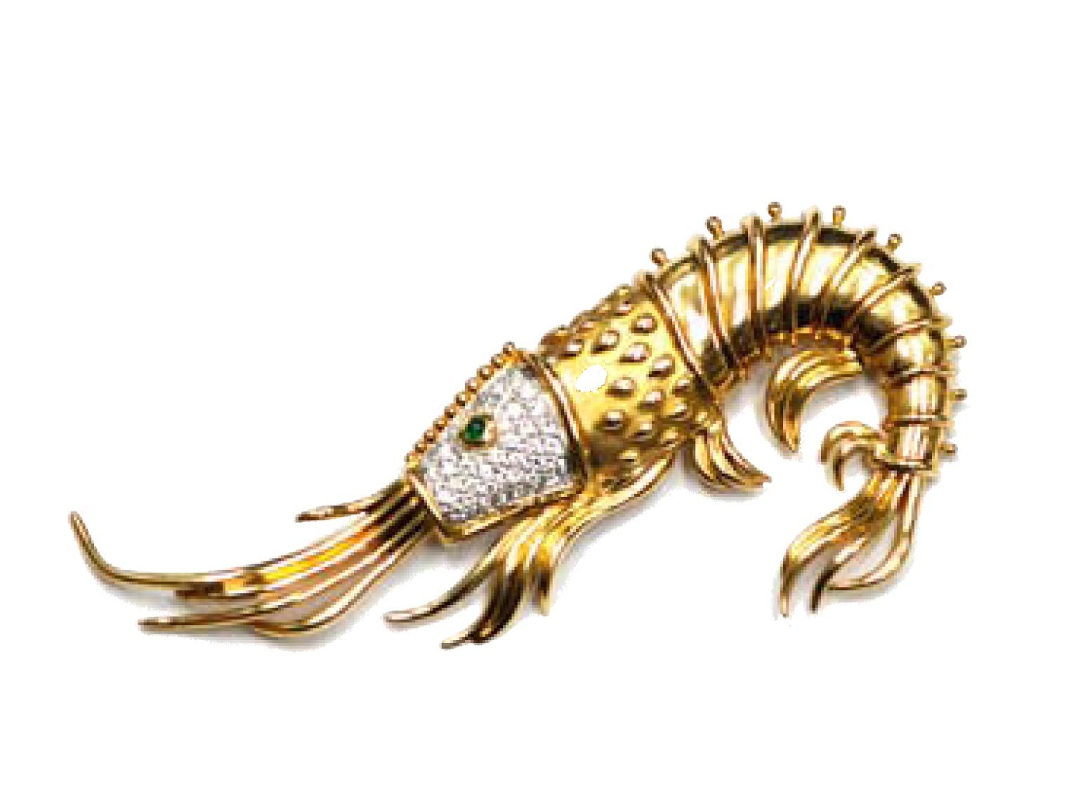 Tiffany & Co. Shrimp Pendant