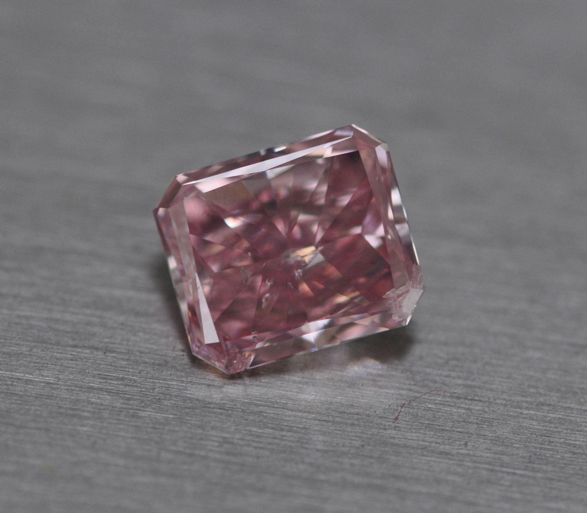 1.62ct Intense Pink Diamond