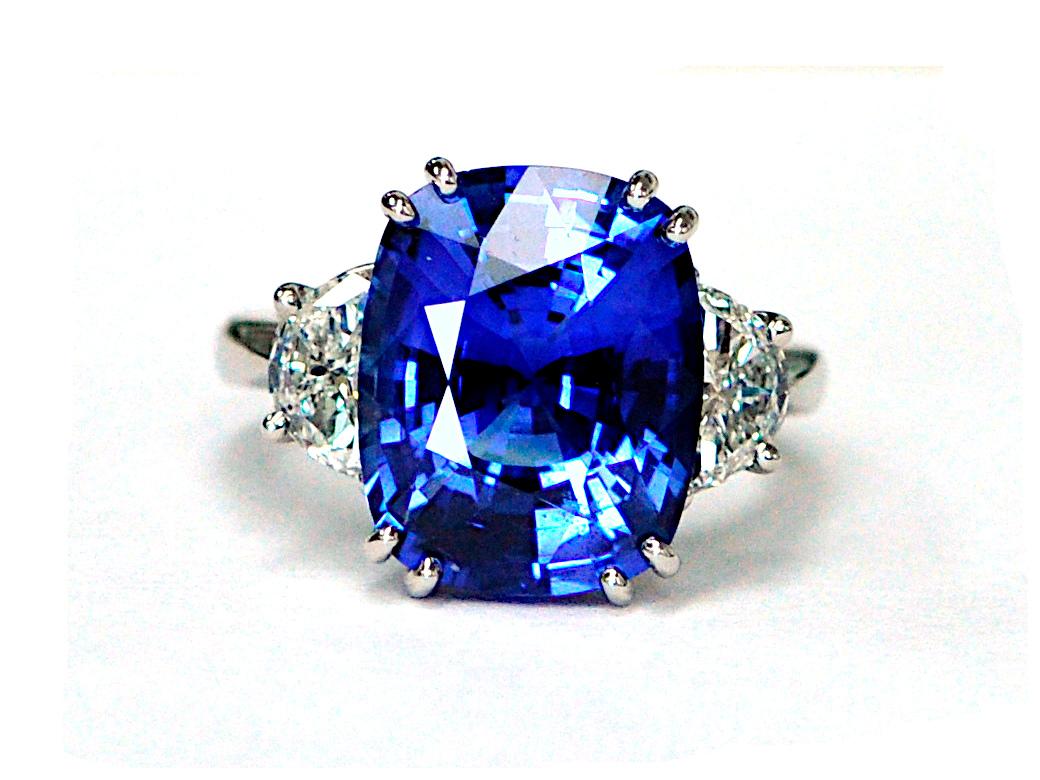 10.33ct Sapphire Ring