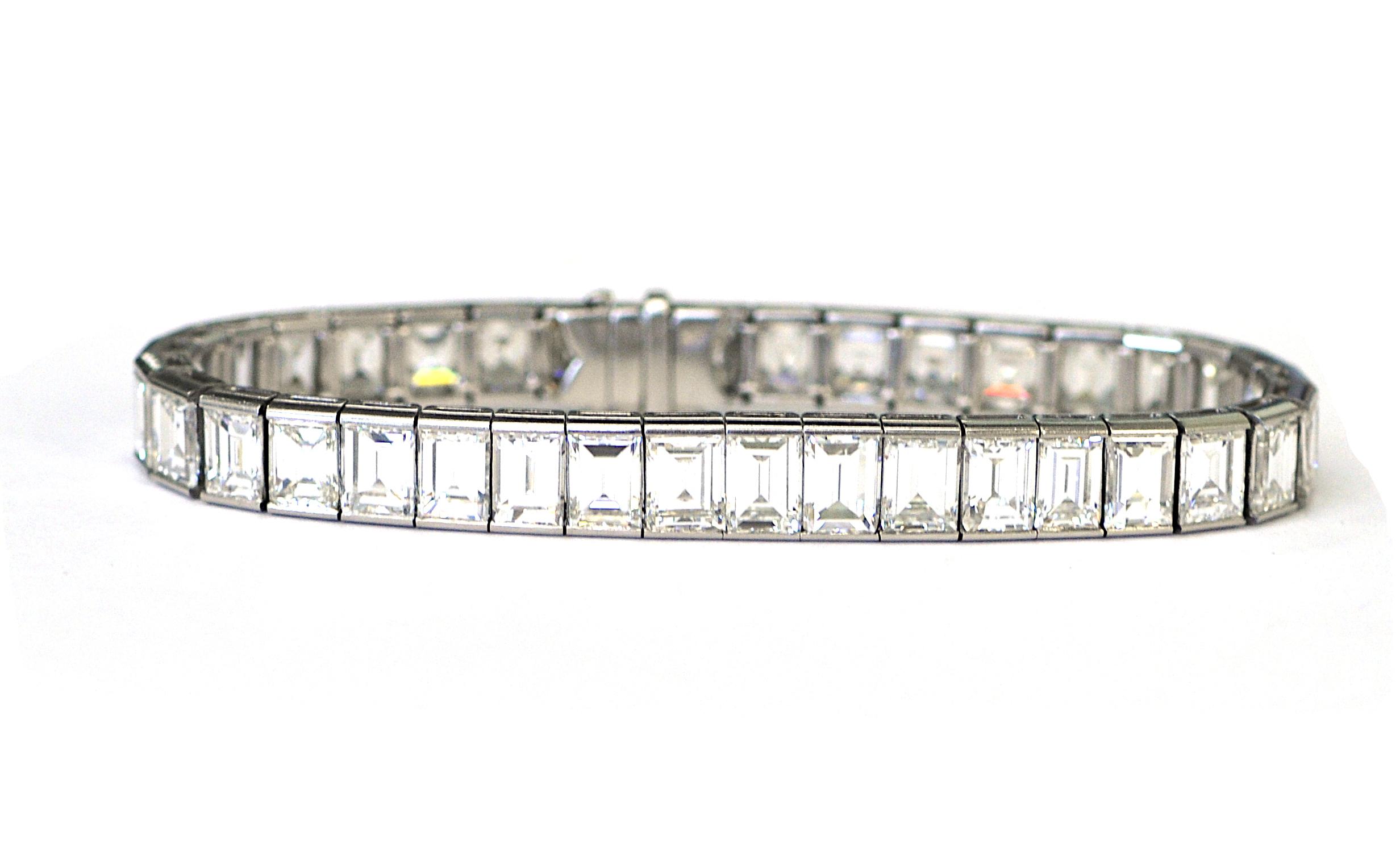 30ct Diamond Bracelet