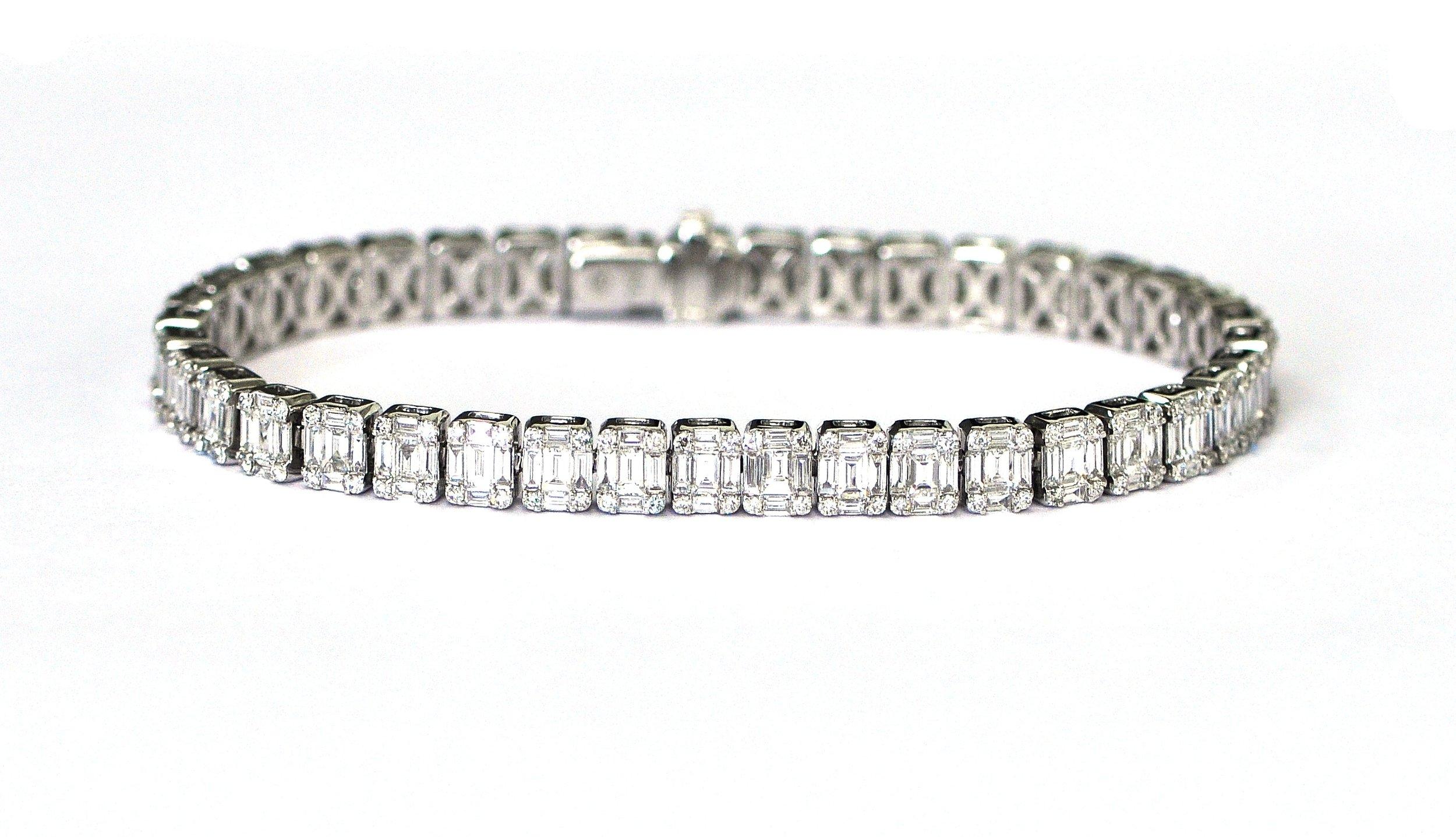 7ct Diamond Bracelet