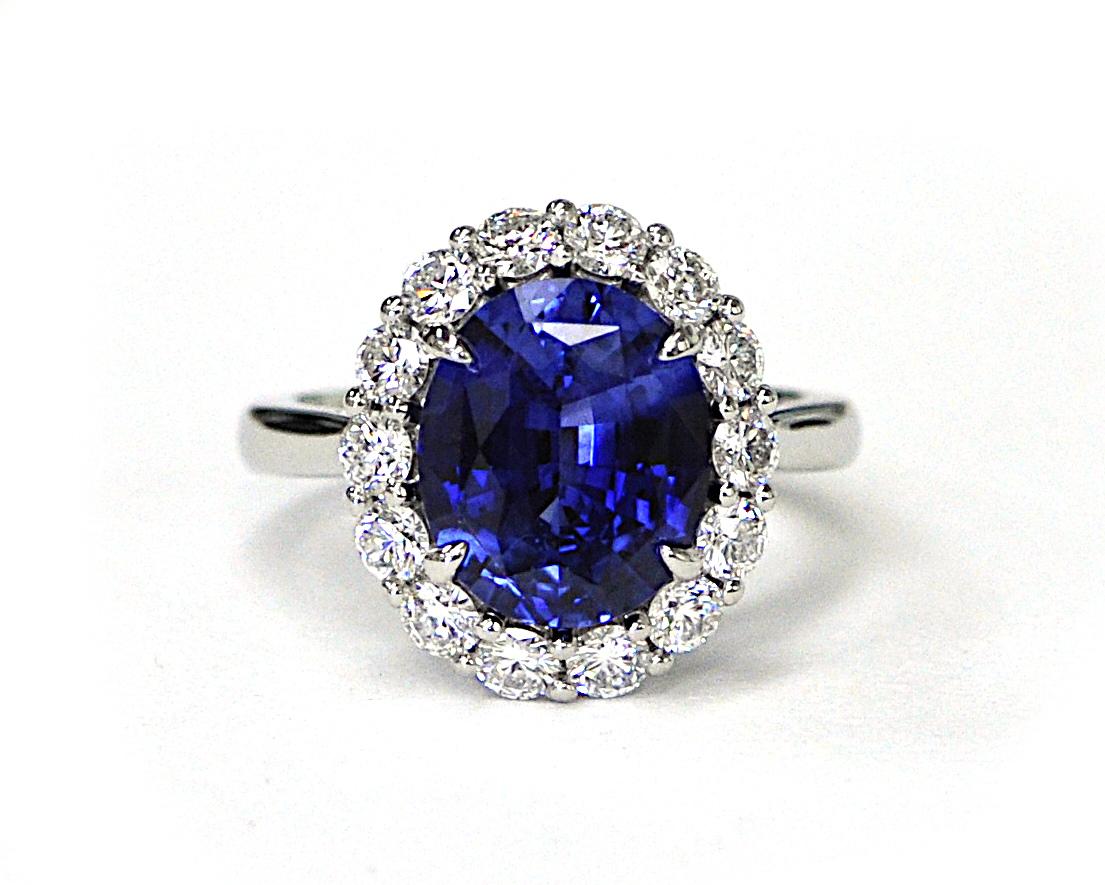 4.59ct Sapphire Ring