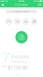 invoice2go for gigs