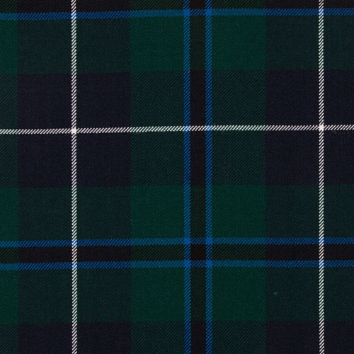 Douglas Modern Blue tartan
