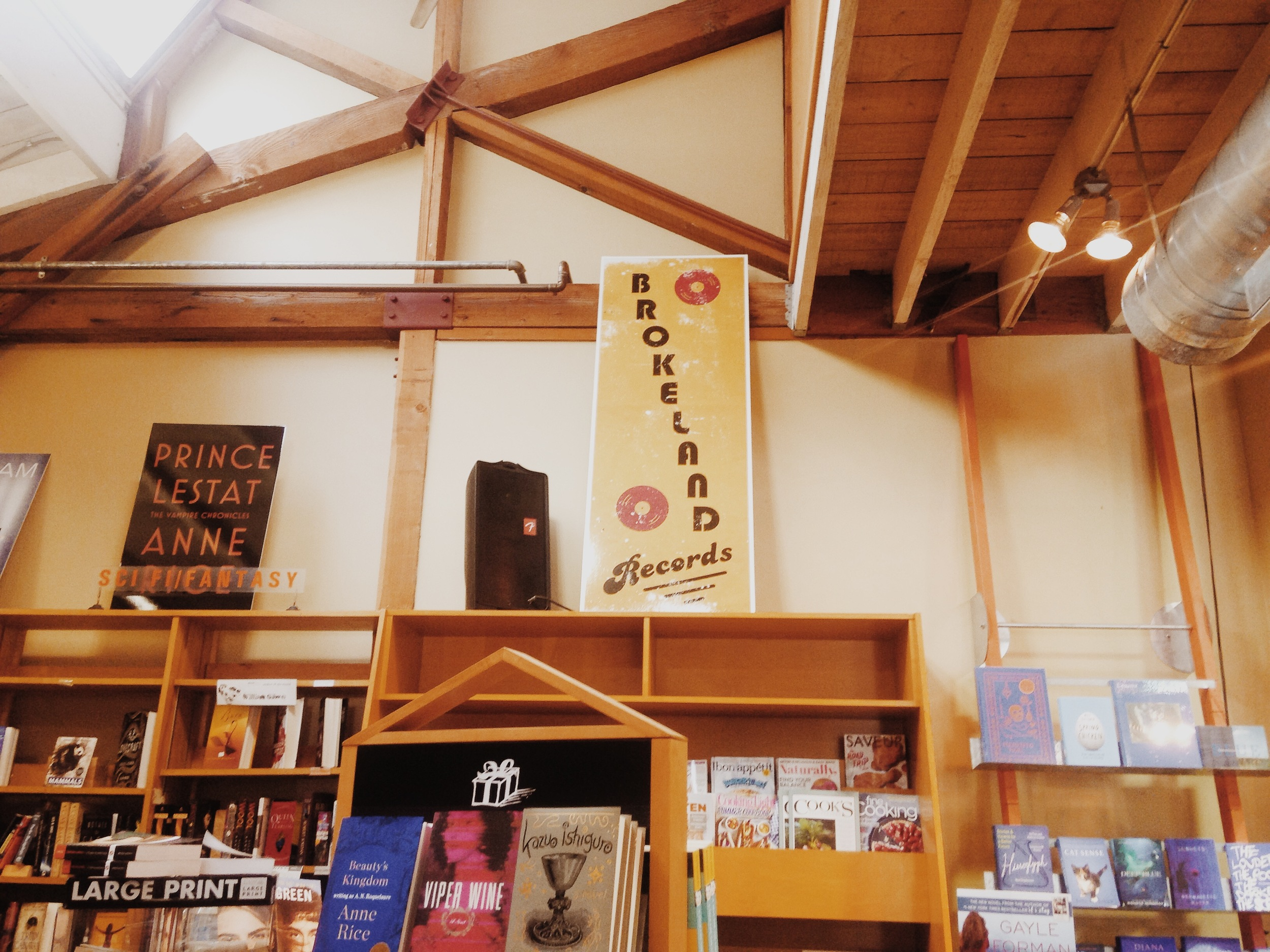 Brokeland Records (Telegraph Avenue, by Michael Chabon)