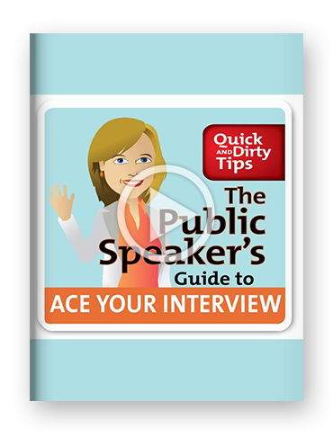 A Public Speaker's Guide to Ace Your Interview