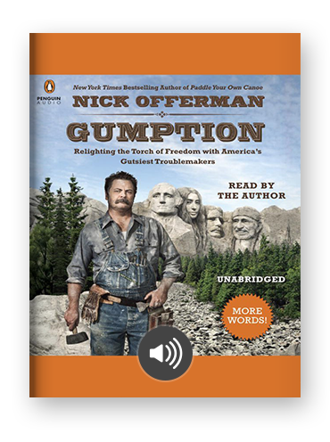 Gumption by Nick Offerman on Scribd