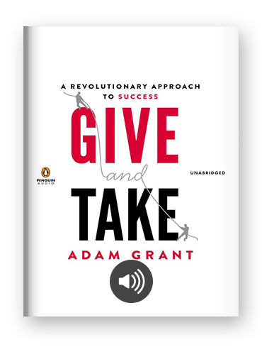 Give and Take by Adam Grant on Scribd