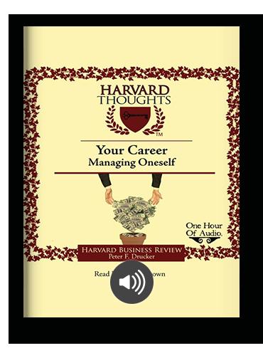 Managing Oneself by Peter Drucker on Scribd