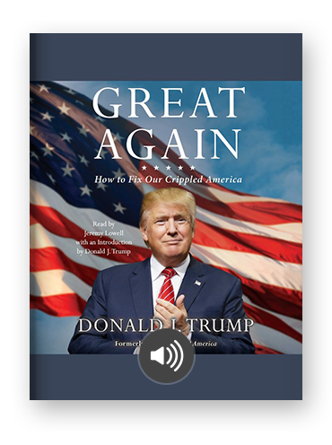Great Again by Donald Trump
