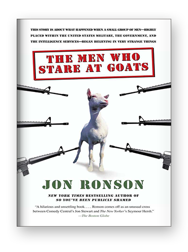 The Men Who Stare At Goats by Jon Ronson on Scribd
