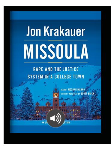 Missoula by Jon Krakauer on Scribd