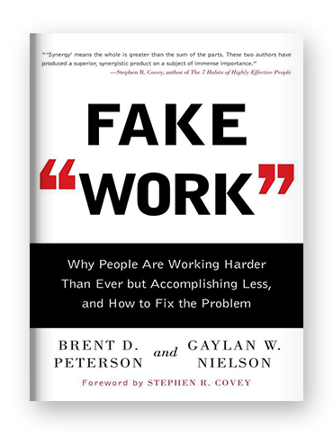 "Fake ""Work"" by Brent D. Peterson on Scribd"