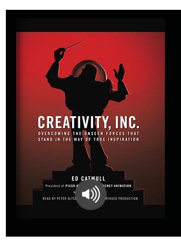 Creativity, Inc. by Ed Catmull on Scribd