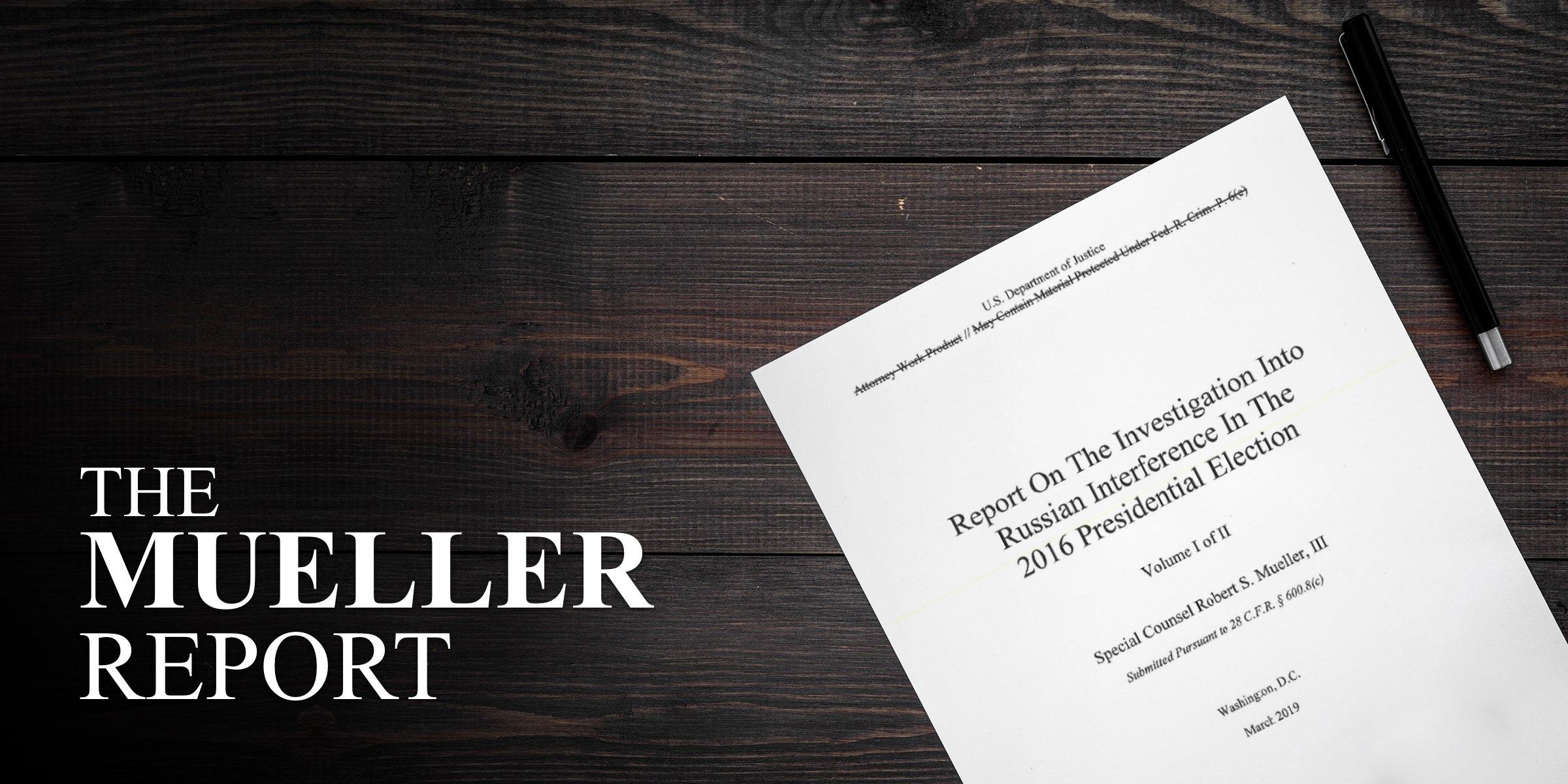 Read the Mueller Report on Scribd for Free — Scribd Blog