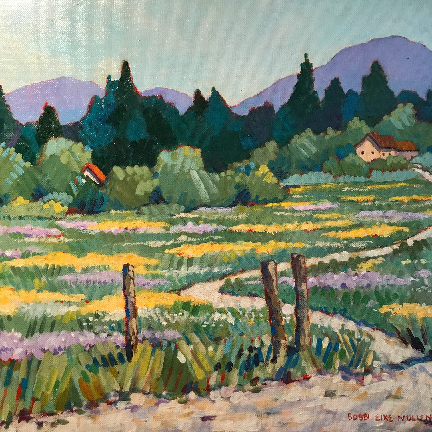 Bobbie Eike Mullen, landscape