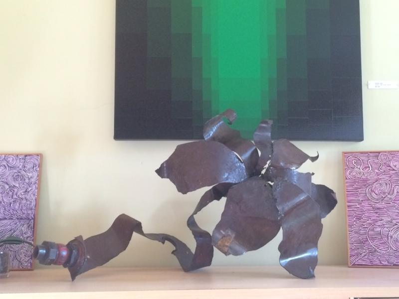 Chris Cernan, sculpture and painting