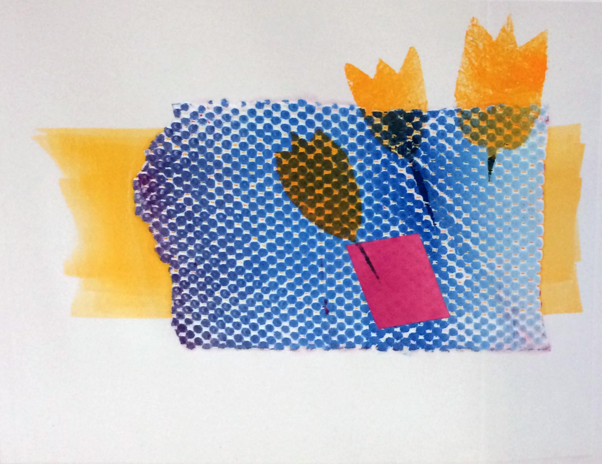 Renee Santhouse, monoprint