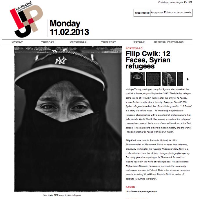 LE JOURNAL DE LA PHOTOGRAPHY 02/2013