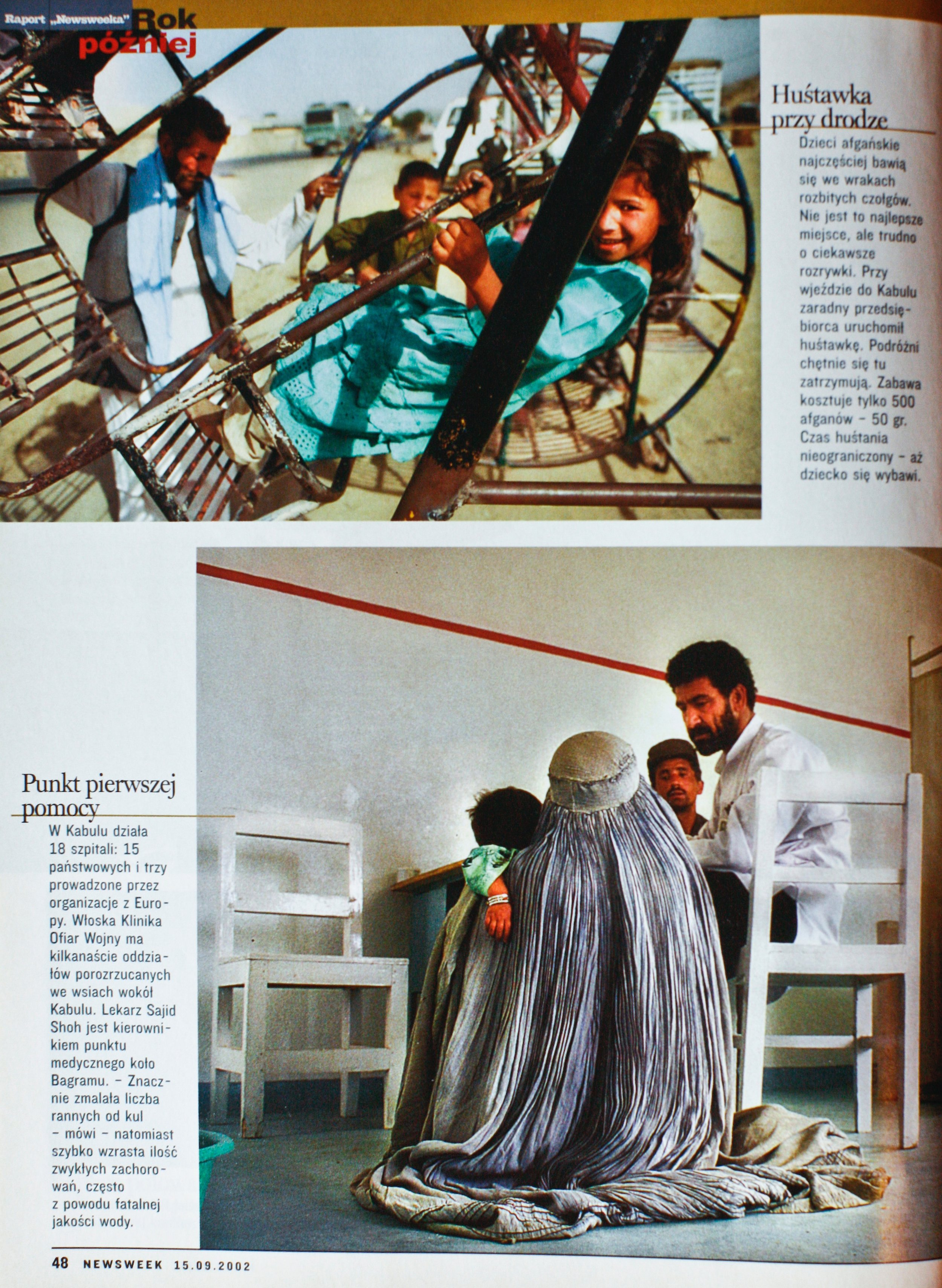 NEWSWEEK 2001 KABUL - THE TIME OF TRIAL