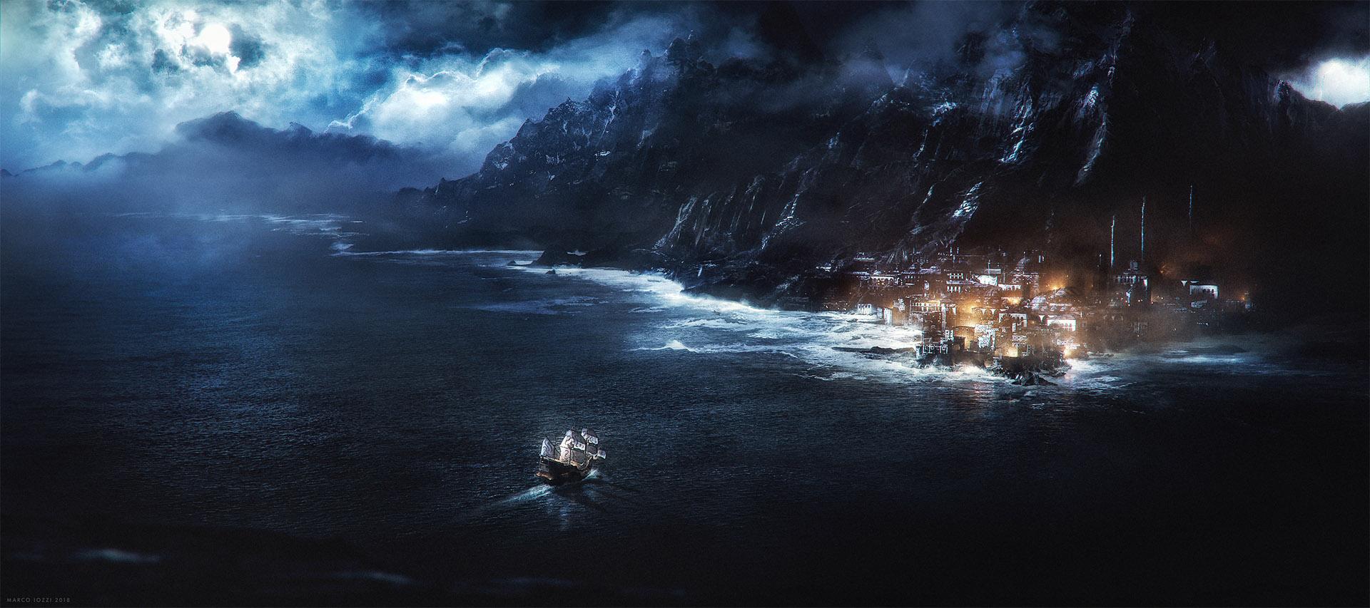 ASSHAI  Concept Art for Unseen Westeros Artbook
