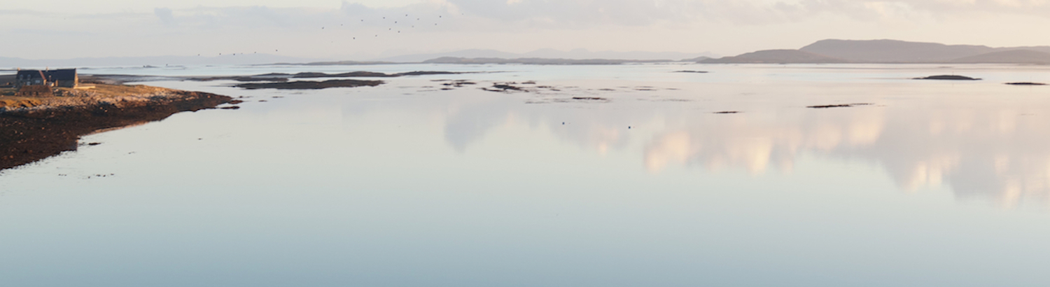 Isle of Berneray, Outer Hebrides - Image Artist's own from front door step - one spring morning.