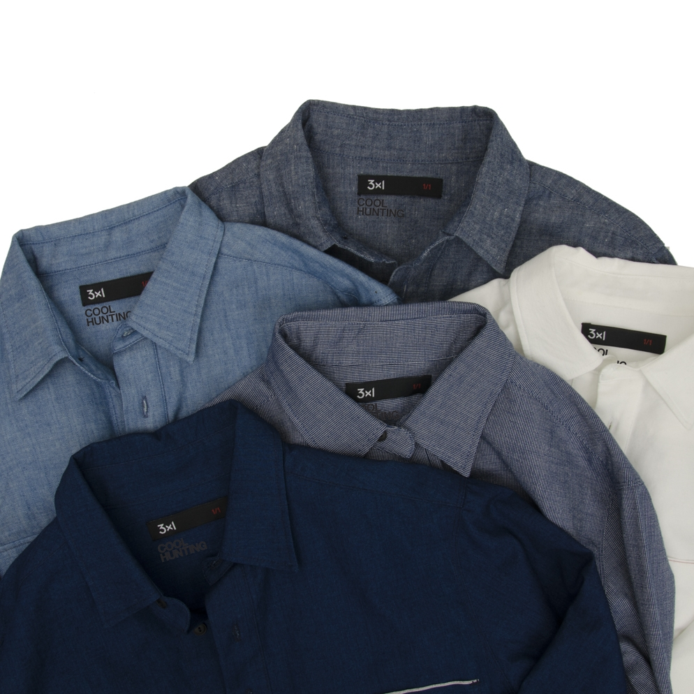 3x1 Chambray Popover