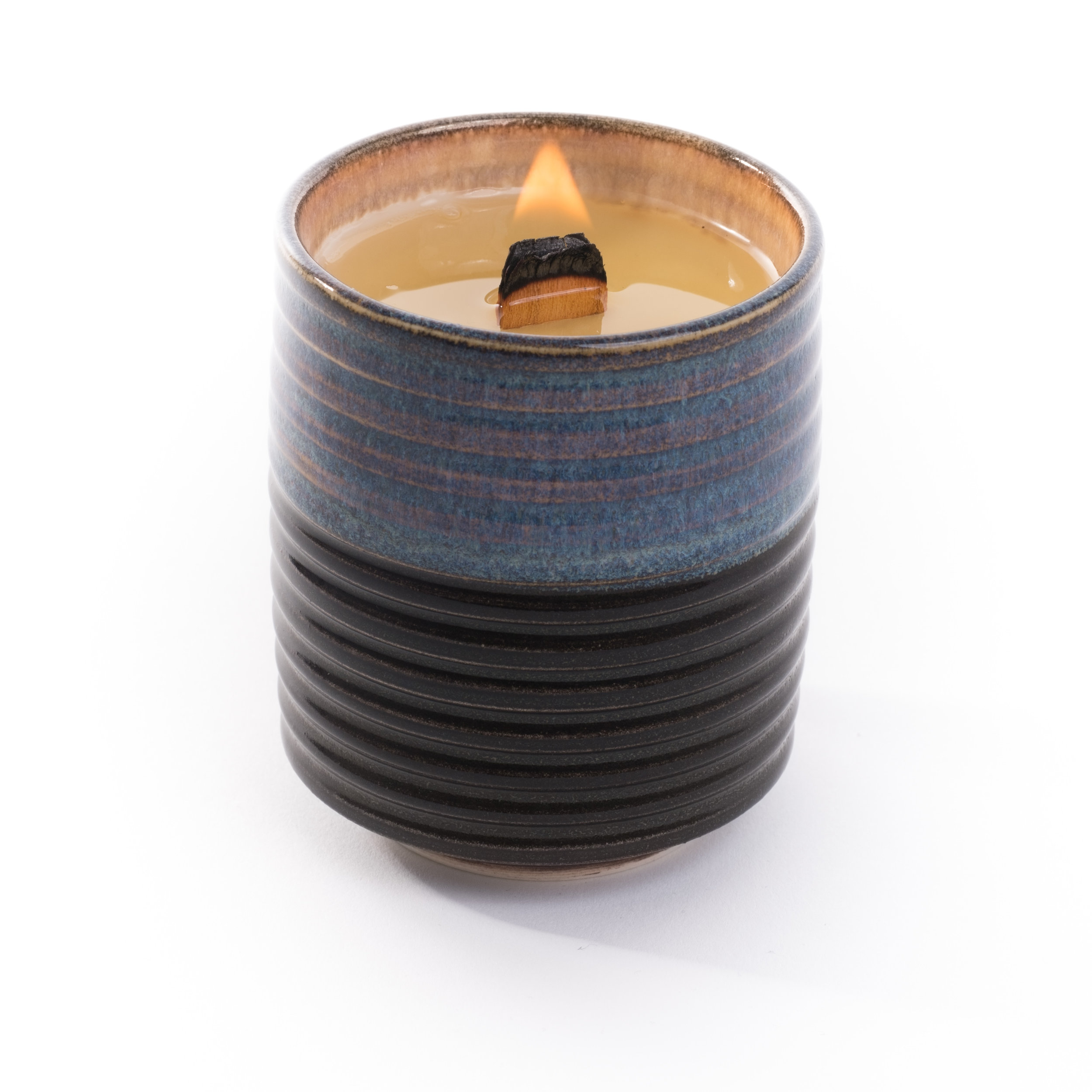 Jonathan Castro Ribbed Pillar Candle, CH Omakase Edition