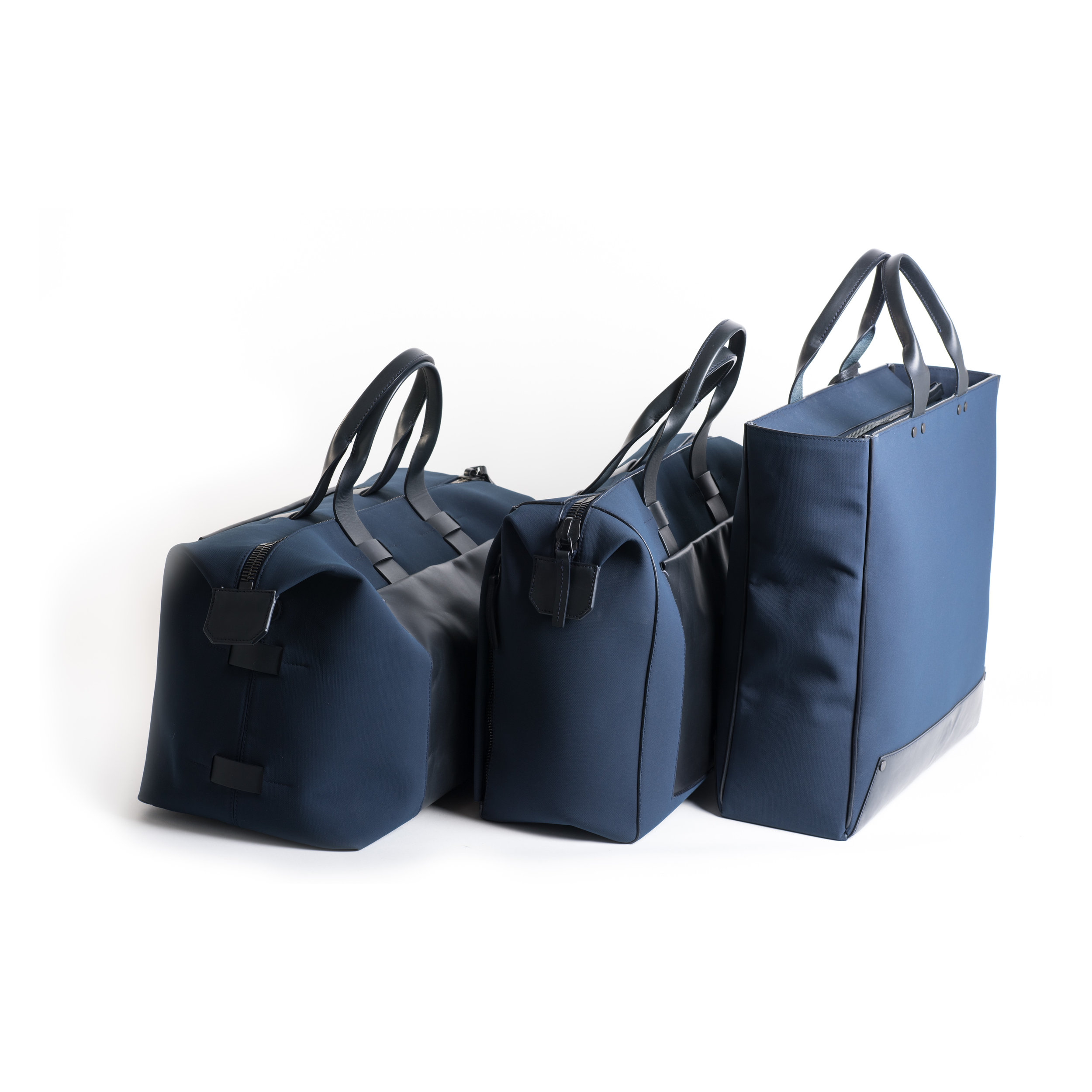 Troubadour Coated Canvas Tote, Day Bag and Weekender