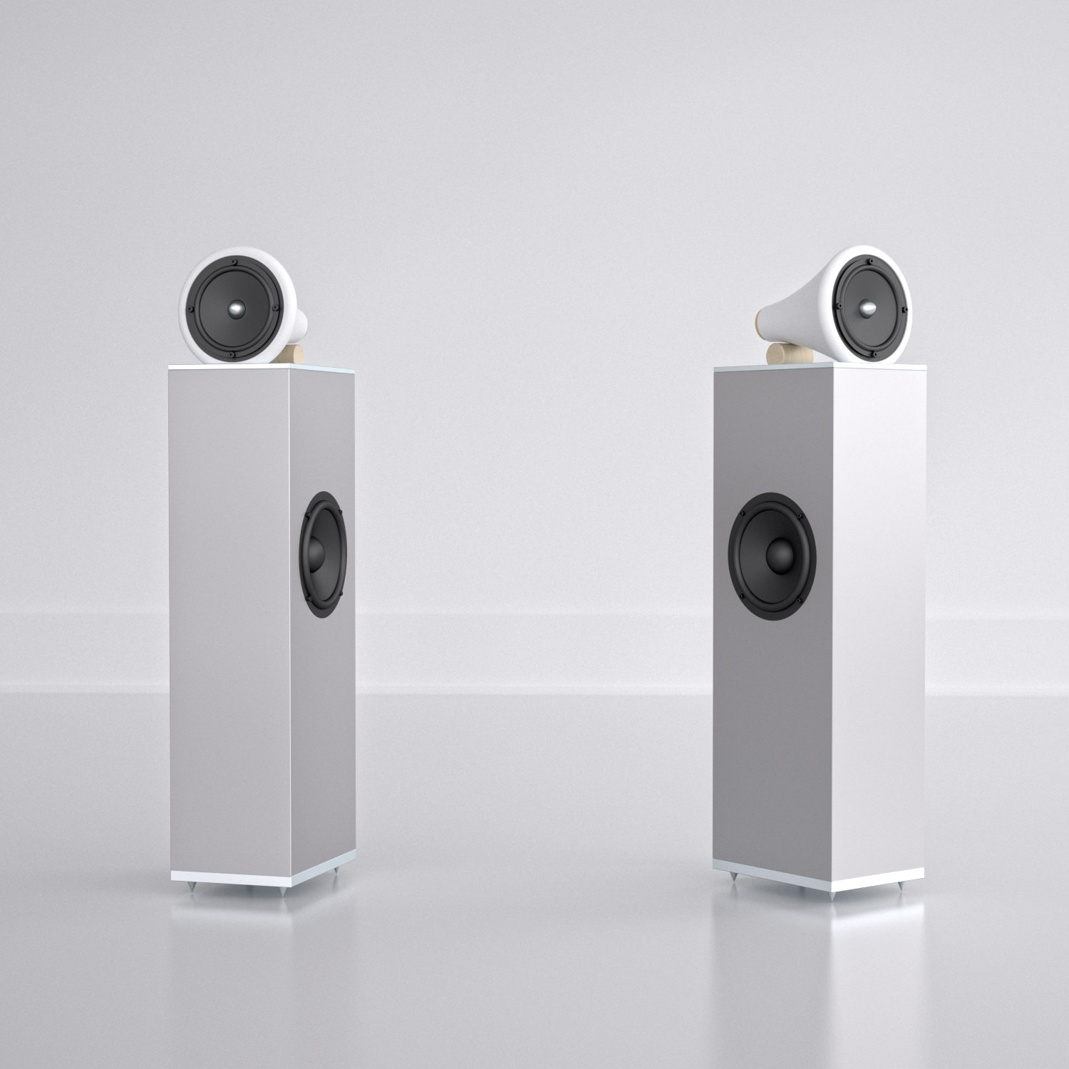 Joey Roth, Ceramic Speaker Towers