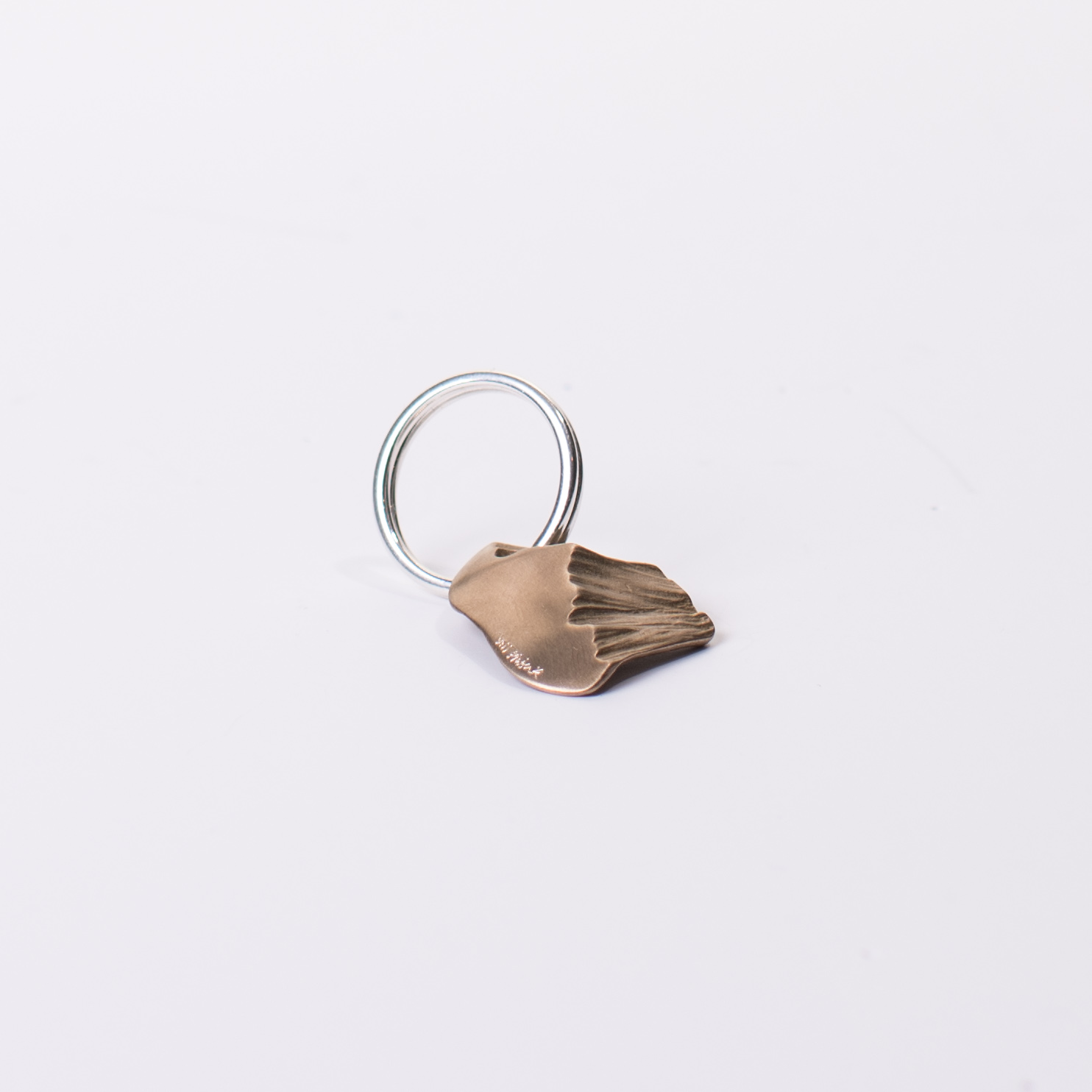 Jill Platner + COOL HUNTING Omakase Bronze Nugget Keychain