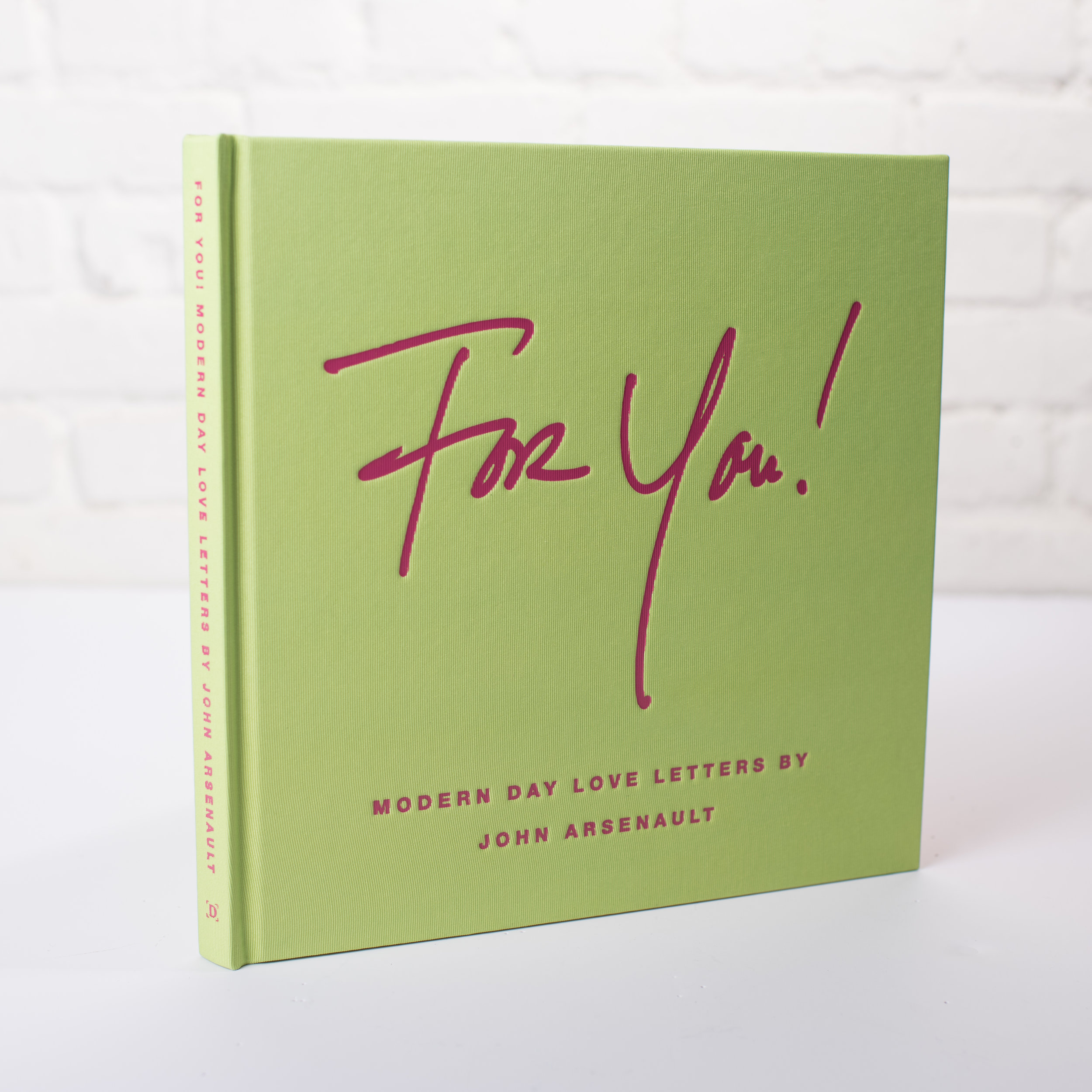 John Arsenault's FOR YOU! Book and COOL HUNTING Omakase Exclusive Print