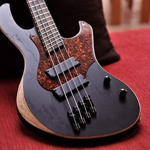Hello people, Nic writing  I am so happy to release my signature @vonsteinguitars 4&5 strings basses  It's been an amazing experience to work with Patrick Von Stein, he patiently listened to me describe my dream basses for months and made it a reality.  Specs :  Ebony Fretboard Swamp ash Body Canadian Maple neck Nordstrand FD3 pickups Schaller Hardware Hiden 3 band EQ  Avalaible on order now : @vonsteinguitars