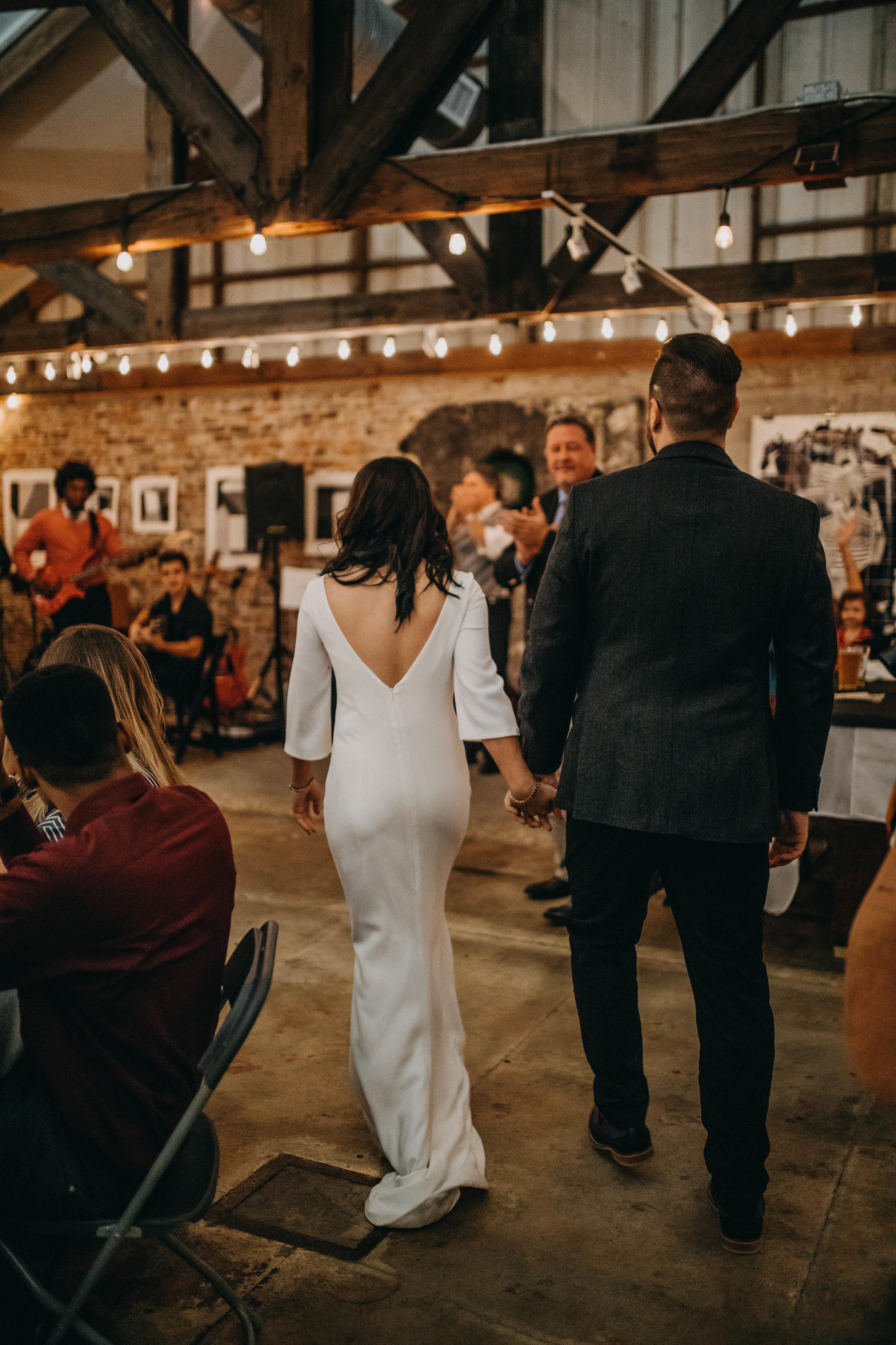 Reception Photos | American Traditional Tattoo Themed Eco Friendly Dark Florida Wedding