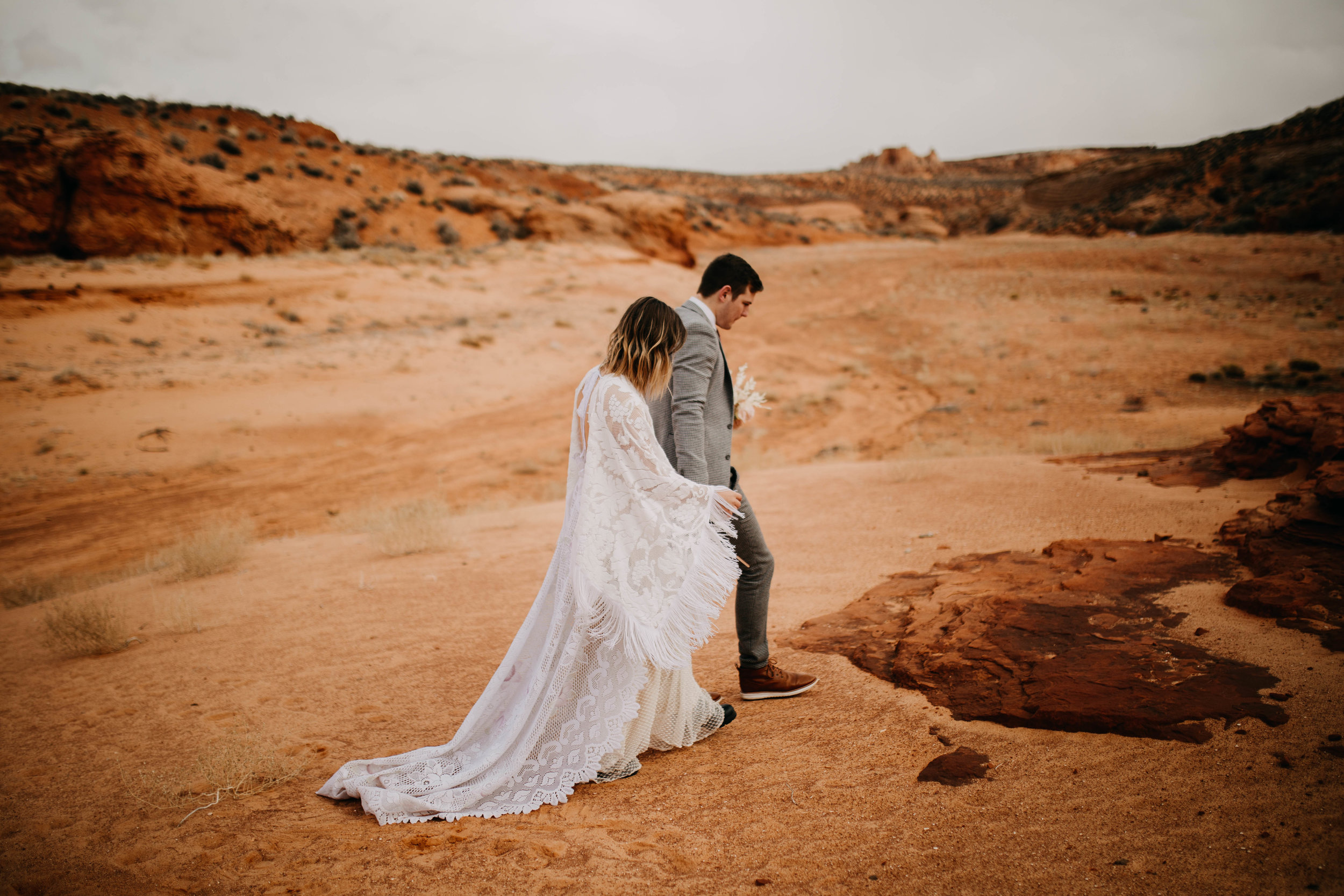 Warm Desert Elopement