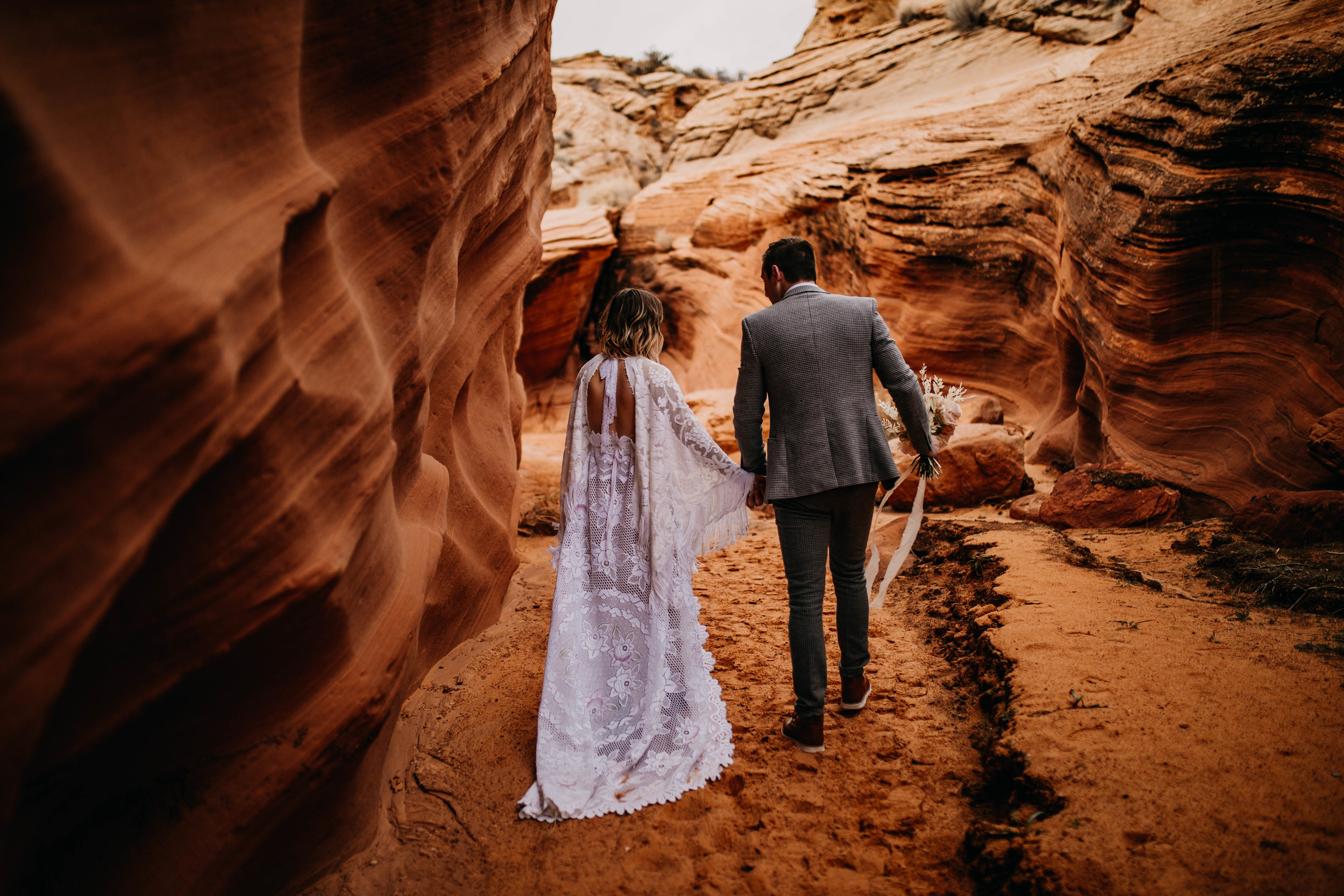 Arizona Slot Canyon Elopement