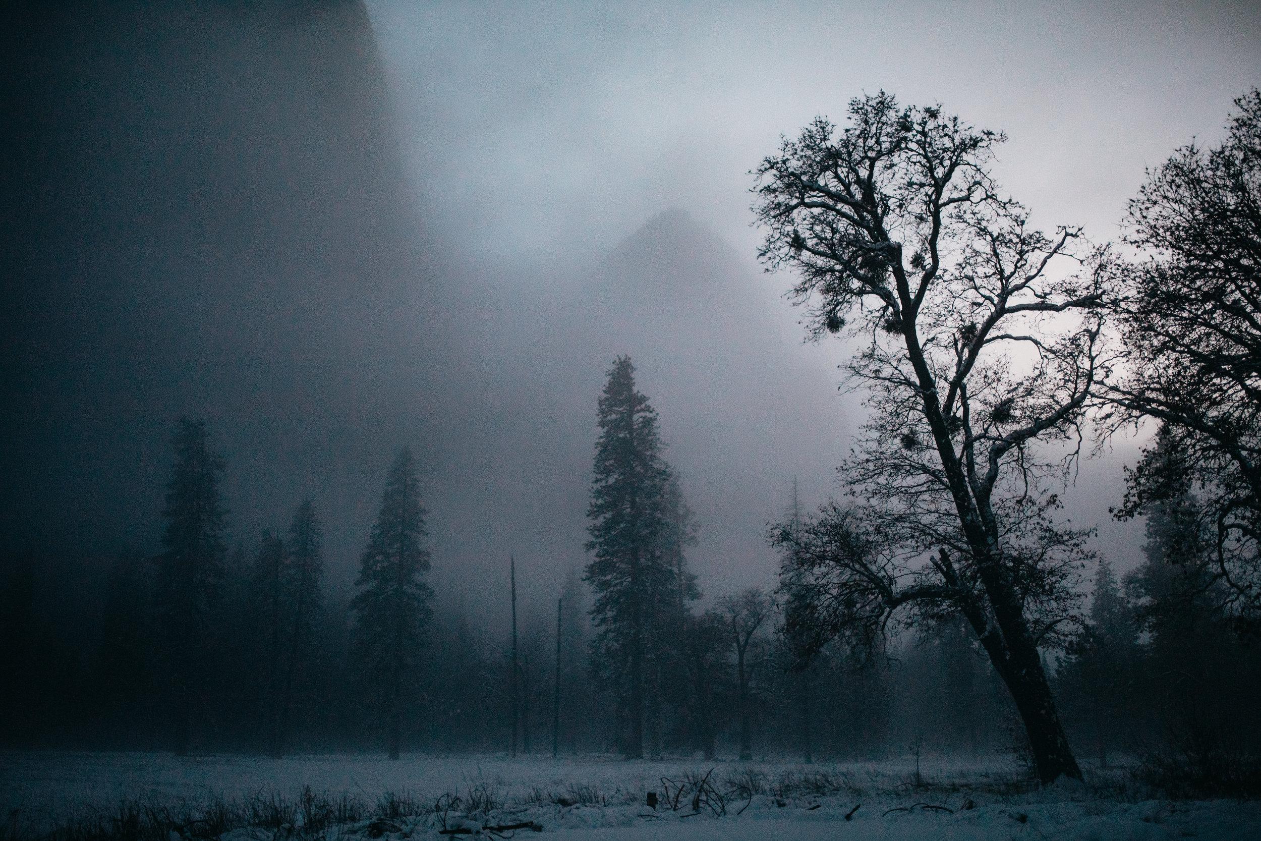3. Foggy El Capitan