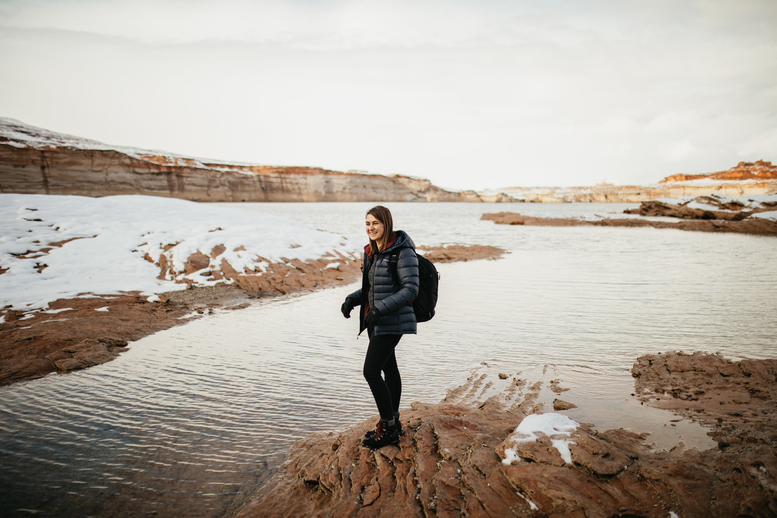 Winter on Lake Powell