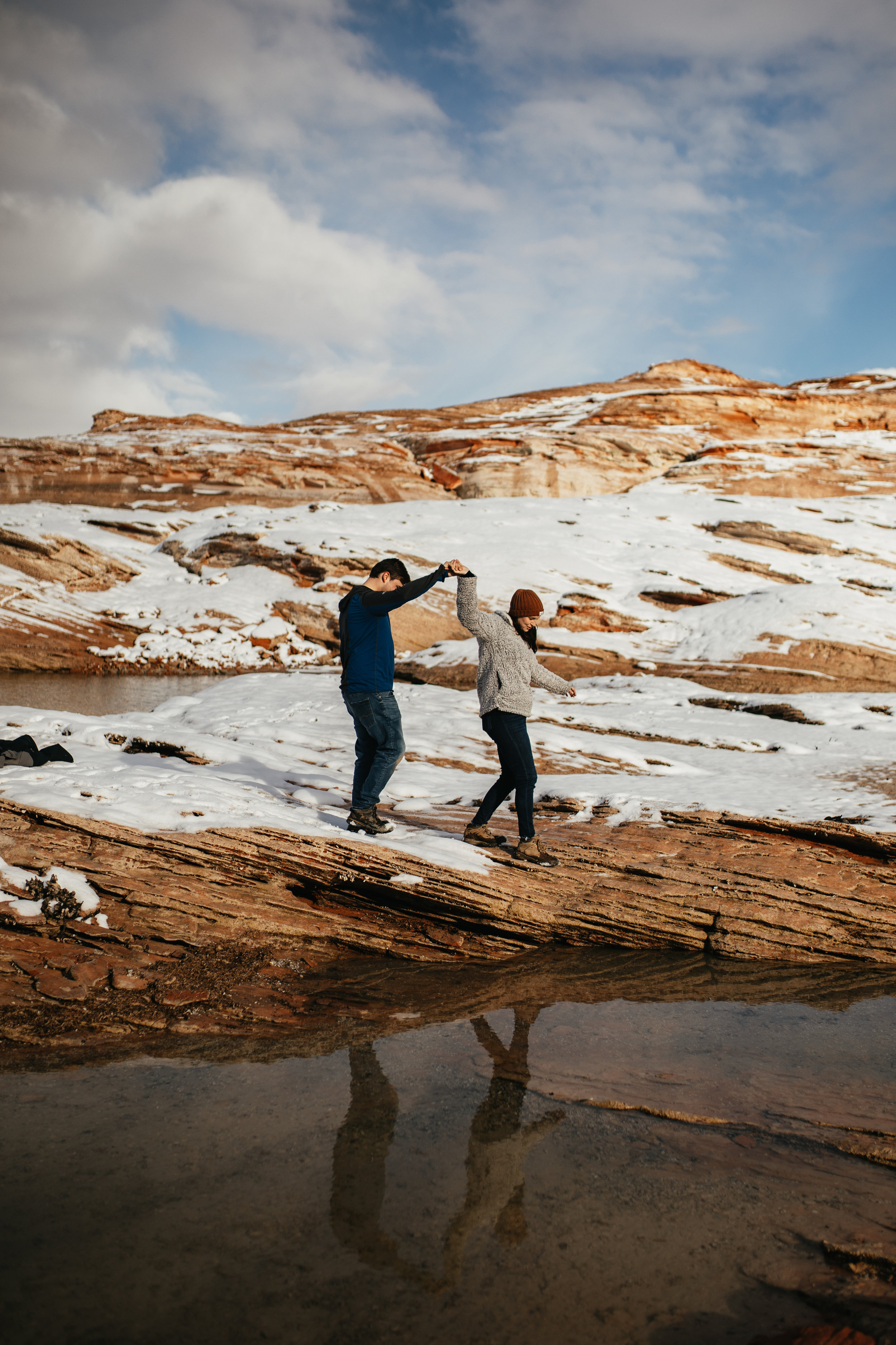 Couples Photos on Lake Powell
