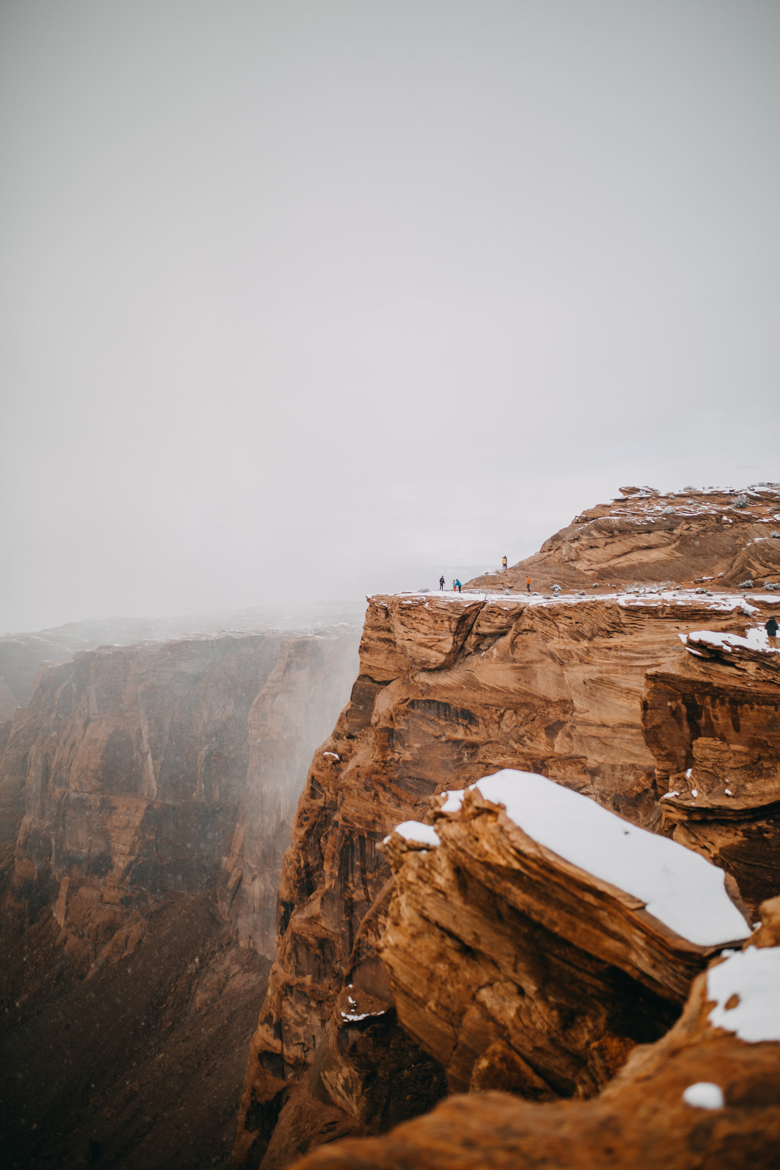 Winter at Horseshoe Bend