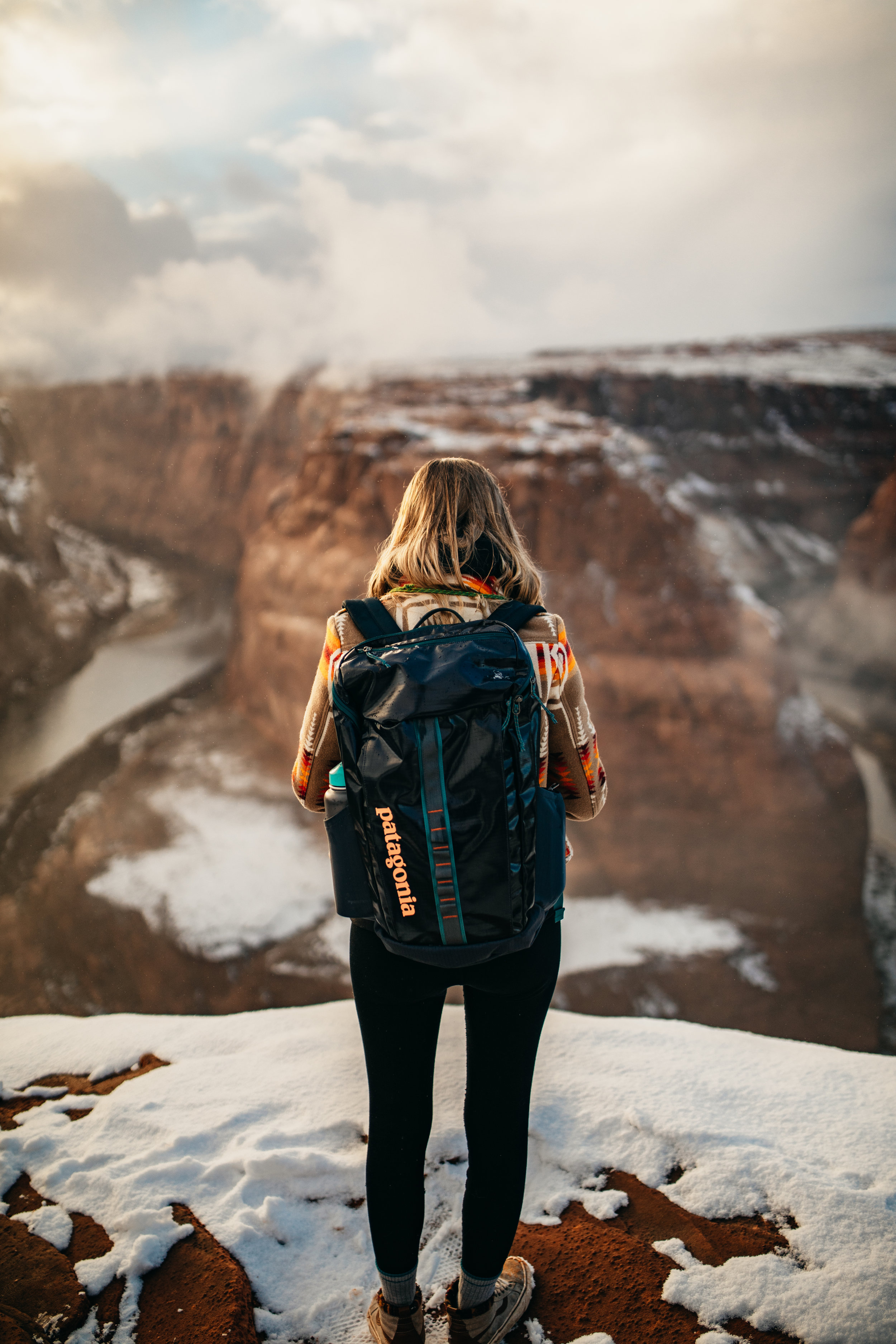 Patagonia Backpack Love | Horseshoe Bend, Arizona